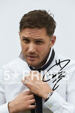 "SIGNED PP TOM HARDY POSTER PHOTO 12x8"" AUTOGRAPH PRINT BRITISH ACTOR STYLE C"
