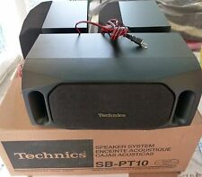 TECHNICS SB-PT10 SPEAKER SYSTEM BLACK NOIR