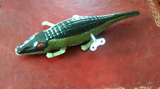 Inertie crocodile wind-up reproduction jouet en boîte