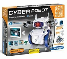 Clementoni CYBER ROBOT Programmable Bluetooth Interactive SCIENCE MUSEUM