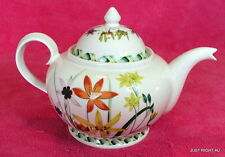 "Portmeirion (The Ladies Flower Garden) 4 1/2"" TEA POT  Exc"
