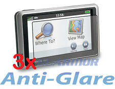 "3x Garmin Nuvi 2455 2455LM 2455LT 2455LMT 4.3"" Anti-Glare LCD Screen Protector"