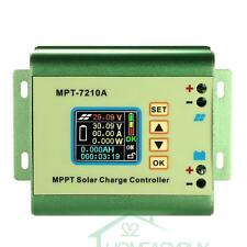 7210A MPPT LCD Solar Panel Battery Regulator Charge Controller DC 12-60V