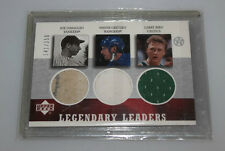 2002-03 Ud superestrellas Legendary leaders larry bird Wayne Gretzky dimaggio Jersey