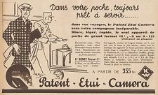 Y8913 Patent Etui Camera - Beney Frères - Pubblicità d'epoca - 1932 Old advert