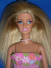 Straight Leg Barbie Doll ~ Blonde Hair ~ Pretty Dress & Shoes~ For Play or OOAK