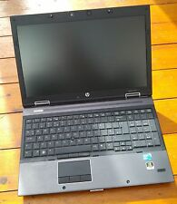 "HP 8540w Elitebook Workstation 2.4GHz i5 4GB RAM 15.6"" NVidia Quadro FX880M r001"