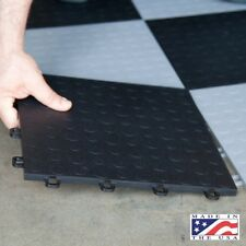 Garage Floor Tiles Interlocking Black Mats Best Coin Basement Flooring 12x12