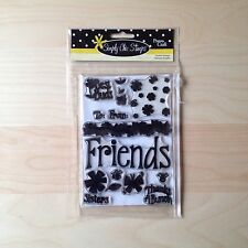 Provo Craft Simply Chic Stamp Set - Friends