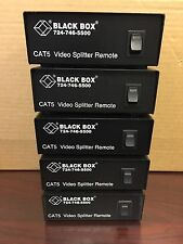 Black Box CAT5 Video Splitter Remote AC502A