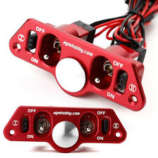 AGM Heavy Duty Dual ON-OFF Power Switch J-003 RED w/ Fuel Dot  for RC Plane UK