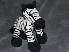 Gund zeek Baby Giocattolo Morbido Zebra Nero Bianco Beanie Trapunta 31015
