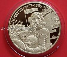 2004 East Caribbean States Henry VII Gold Plated Piedfort $2 Two Dollar Coin