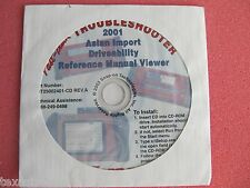 Snap On MT2500 MTG2500 Scanner MODIS Asian Ref Manual CD 2001 MT25002401-CD RevA