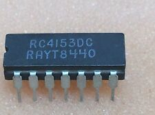 1 pc. RC4153DC  Voltage-to-Frequency Converter, Raytheon  DIP14  NOS