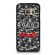 AUDI Samsung Galaxy S3 S4 S5 S6 S7 Edge Note 3 4 5 Phone Case Cover