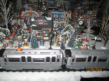 "TRAIN GARDEN VILLAGE HOUSE "" The MOTORIZED SUBWAY SYSTEM "" +DEPT 56/LEMAX info"
