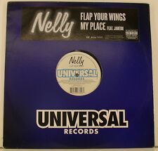 "Nelly Flap your wings my place feat. Jaheim 12"" maxi single (i343)"