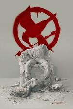 HUNGER GAMES: MOCKINGJAY PART 2 - Original Promo Movie Poster SDCC 2015 MINT