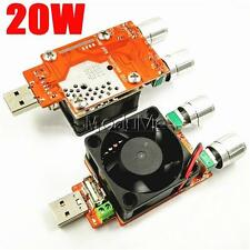 3.7V-21V 3A Adjustable USB Electronic Load Battery Discharge Capacity Tester MO