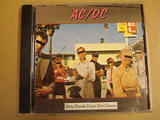 CD / AC/DC - DIRTY DEEDS DONE DIRT CHEAP