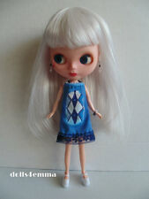 BLYTHE Doll CLOTHES Fashion also fits clones Icy Basaak DRESS & JEWELRY NO DOLL