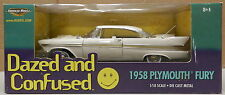 PLYMOUTH 1958 58 FURY DAZED AND CONFUSED MOPAR FORWARD LOOK WING CAR 1/18 ERTL