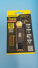 Nitecore THUMB Rechargeable USB Pocket Clip Keychain 85LM + RED LED OUTPUT