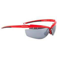 Spiuk Zelerix Cycling Sunglasses Red- Smoke Lens