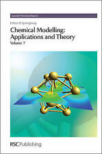 Chemical Modelling: 7 (Specialist Periodical Reports), RSC Publishing, Excellent