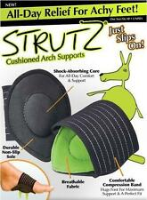 Strutz Cushioned Arch Supports Shock Absorbing Unisex Relief Achy Feet  1 pair