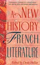 A New History of French Literature by