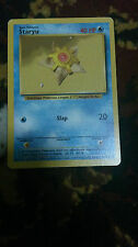 Staryu Pokemon Card COMMON [BASE SET]