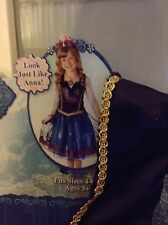 NWT Disney Frozen Anna Costume Dress Princess HTF sold out 4-6X