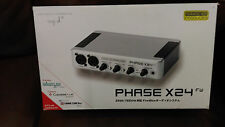New and Unused Terratec Phase X24 24bit High End Professional Audio Interface