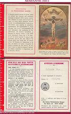 2417 SANTINO HOLY CARD GESù CRISTO CROCIFISSO PREZIOSISSIMO SANGUE