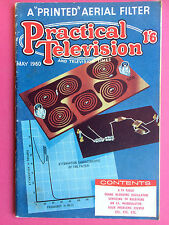 PRACTICAL TELEVISION - May 1960 - A Printed Aerial Filter - Electronics Magazine