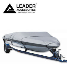 New 600D Trailerable V-hull tri-hull runabouts Boat Cover Fits14-16Ft Up to 68''