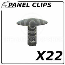 Panel Clips Doors Pannels 6,2 MM Fiat Punto/500/Idea/Stilo/Doblo/147 10476 22PK