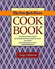 LIKE NEW《New York Times Cookbook by Craig Claiborne 》(1990, Hardcover, Revised)