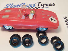 MARX 8 urethane front or rear tires for 1/43 slotcars us