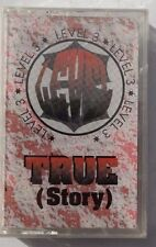 Vtg SEALED Level 3 TRUE (Story) PANDISC MUSIC US 1994 Cassette (True Dat Mix)