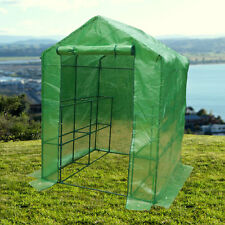 "New 57""*57""*77""Shelves Greenhouse Portable Mini Walk In Outdoor Green House"