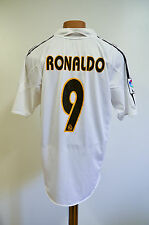 REAL MADRID SPAIN 2004/2005 HOME FOOTBALL SHIRT JERSEY CAMISETA ADIDAS RONALDO 9