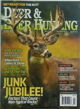 Deer & Deer Hunting Oct 2016 Junk Jubilee Get Ready for the Rut FREE SHIPPING sb