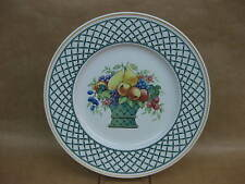 "Villeroy & Boch ""Basket"" Dinner Plate ~ 10 1/2"" ~ Excellent Condition ~ Germany"
