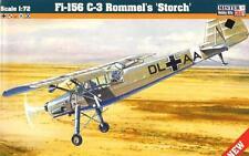FIESELER Fi 156 C3 ROMMEL'S STORCH LUFTWAFFE & POLONAIS AF MKGS 1/72 MASTERCRAFT