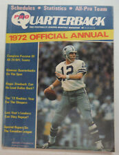 Pro Quarterback Magazine Roger Staubach & Canadian League August 1972 052215R
