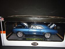 M2 Chevrolet Camaro RS 1969 Blue Foose Design 1/24