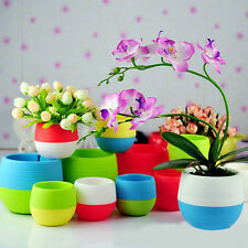 Indoor Outdoor Garden Plant Flower Pot Balcony Plastic Planter Patio Home Decor